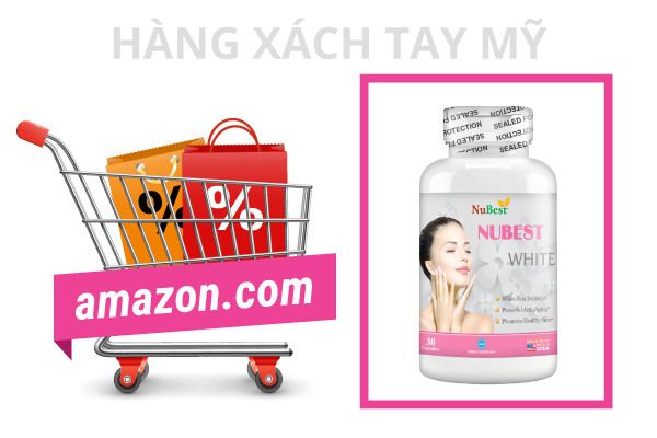 NuBest White là một trong số ít sản phẩm giúp làm đẹp được bán trên Amazon