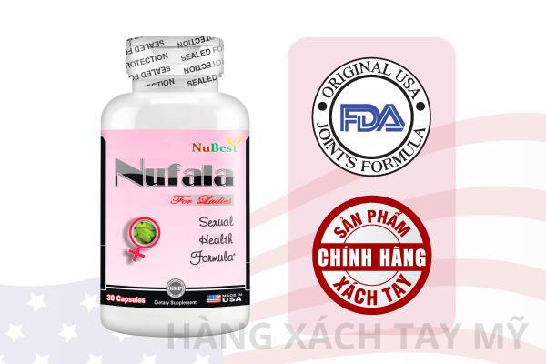 Nufala là thực phẩm bảo vệ sức khoẻ hỗ trợ sinh lý được tin dùng nhất hiện nay
