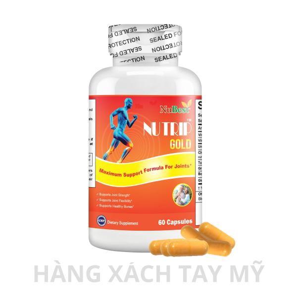 Nutrip Gold giúp giảm đau, đẩy lùi quá trình thoái hóa xương khớp hiệu quả