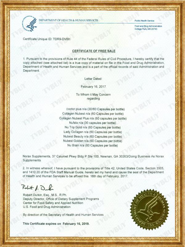 Nufala được FDA cấp chứng nhận
