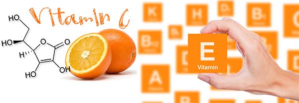Vitamin C và E mang nhiều tác dụng cho sức khỏe và làn da