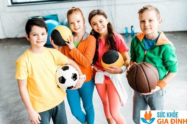 Vận động cơ thể giúp tăng chiều cao ở tuổi 13