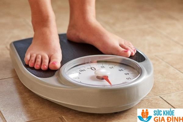 Cơ thể chỉ cân đối khi cân nặng tương ứng với chiều cao
