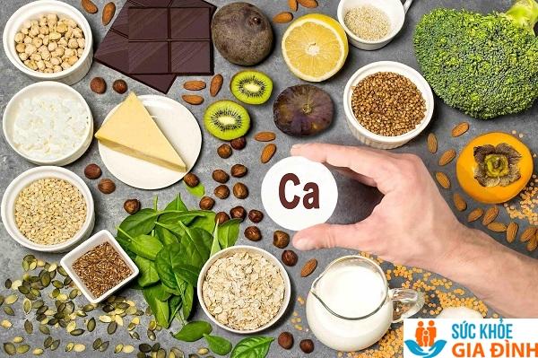 Một số thực phẩm có hàm lượng Canxi cao