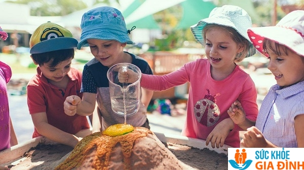 Trẻ 5 tuổi tăng trung bình 1 -2 kg và 3 - 6 cm