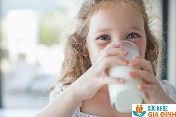 Sữa tươi tăng chiều cao cho trẻ 5 tuổi.