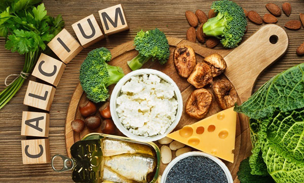 Thực phẩm bổ sung Canxi