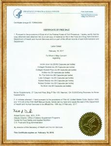 TPVBSK Nutrip Gold đạt được nhiều chứng nhận uy tín