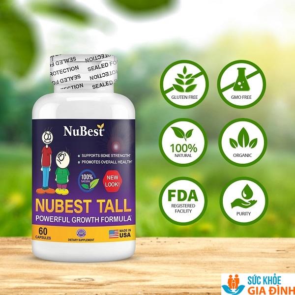 NuBest Tall là một sản phẩm của NuBest Inc